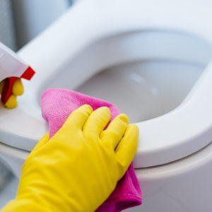 Restroom + Shower Room Cleaning + Care
